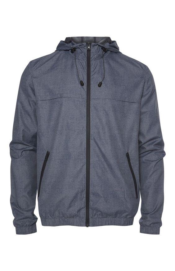 Denim Look Lightweight Sports Jacket