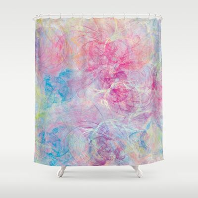 Summer Craziness 3  Shower Curtain by Rosaura Grant - $68.00