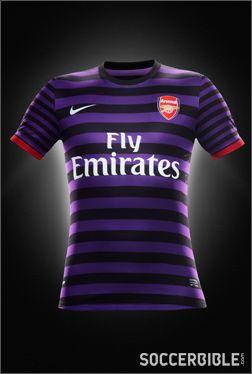Arsenal Away Replica 2012-13 - Nike Football Shirt