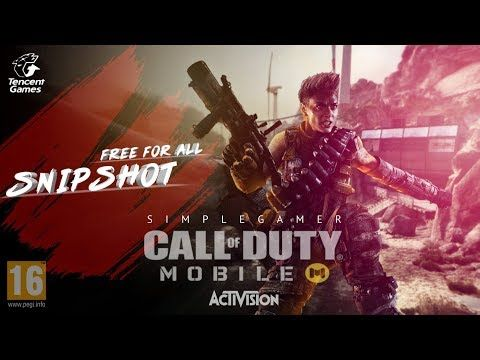 Free For All In Crossfire Snipshot Call Of Duty Mobile Gameplay Youtube Call Of Duty Crossfire Gameplay