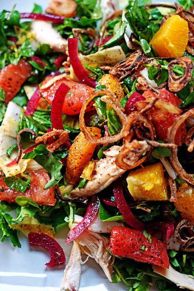 ... with Crispy Shallots | Recipe | Crispy Shallots, Salads and Chicken