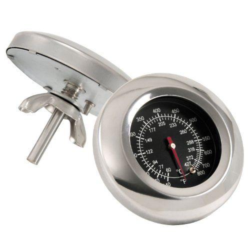 Grillthermometer bis �ber 400 �C, Thermometer f�r alle Grills, Smoker, R�ucherofen und Grillwagen, analog, Grillzubeh�r