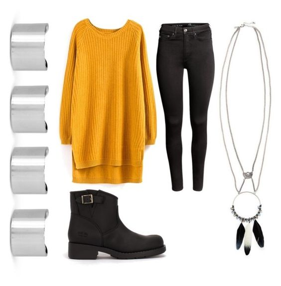 """""""Untitled #286"""" by msnumberone ❤ liked on Polyvore featuring H&M, Maison Margiela and Topshop"""