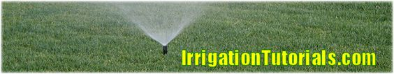 Questions about sprinkler and drip irrigation? Free tutorials, how-to articles and instructions. The web's mother lode of irrigation information!