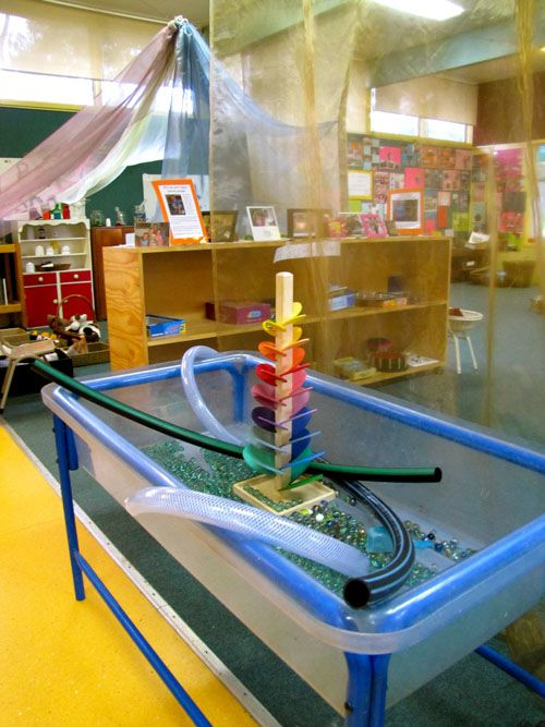 Irresistible Ideas for play based learning marble play