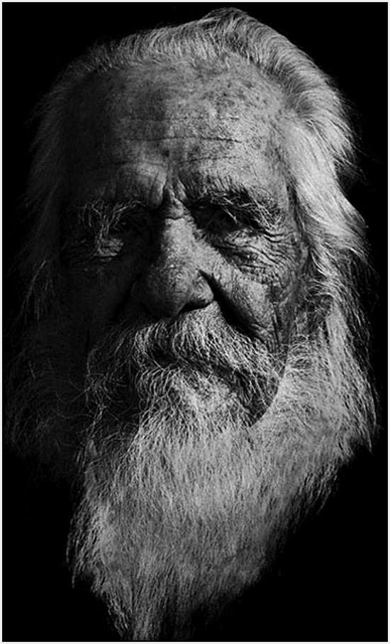 The Face of Age Portraits, Mark Story - 110 year 115 day-old man of German and Irish descent.