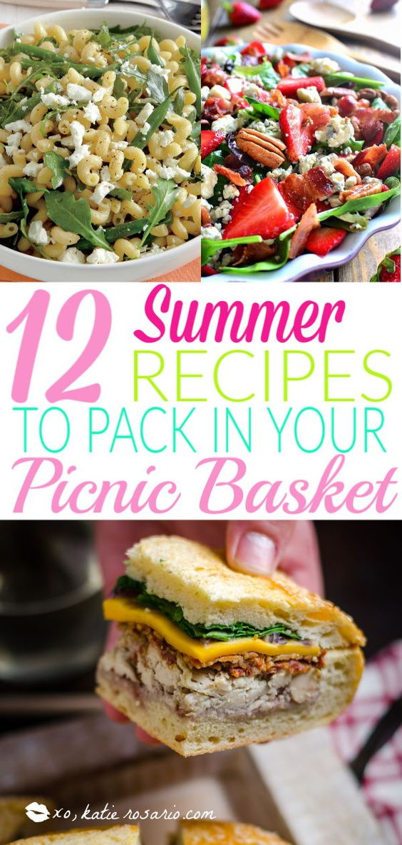 12 Picnic Food Ideas You Must Make This Summer - XO, Katie Rosario
