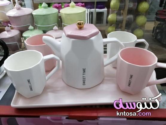 كاسات شاي فخمه بالصور أحدث أشكال أكواب وفناجين الشاي صور فناجين روعه Glassware Mugs Tableware