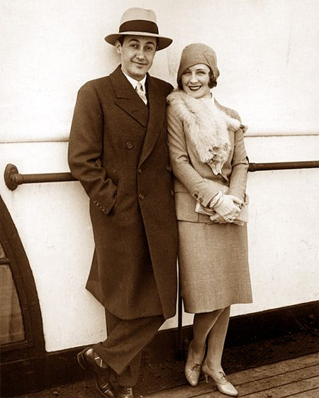 Norma Shearer and husband Irving Thalberg