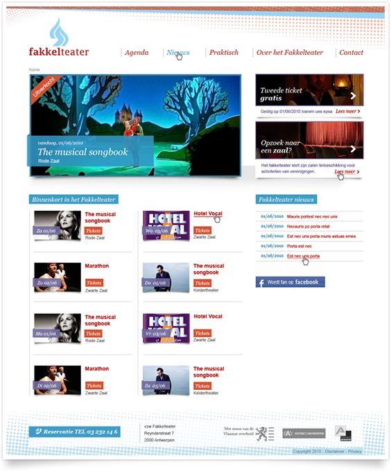 Fakkelteater Antwerpen by www.geeftvorm.com