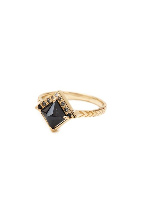 Digby + Iona Raziel Ring, $3,180; catbirdnyc.com
