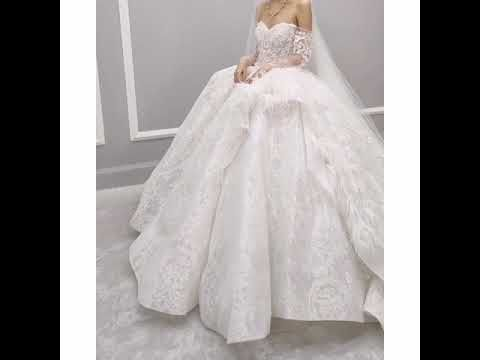 فستان زفاف اخر موضه Youtube Wedding Dresses Dresses Fashion