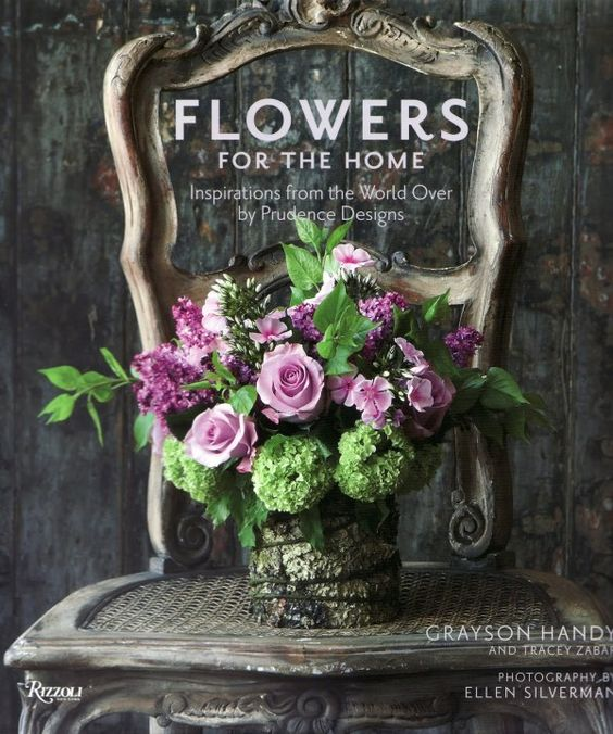 [flowers-for-the-home-book: Beautiful Flower, Floral Design, Color, Flower Arrangements, Floral Arrangements, Green Hydrangea, Purple Roses, Purple Flower