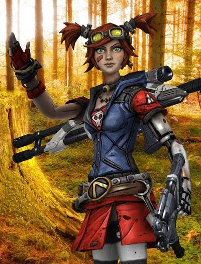 Borderlands 2 Cosplay -- Gaige the Mecromancer Cosplay Costume Version 03