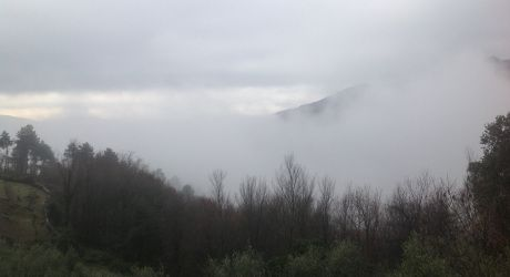 At home in the clouds, Podenzana, Lunigiana, northern Tuscany