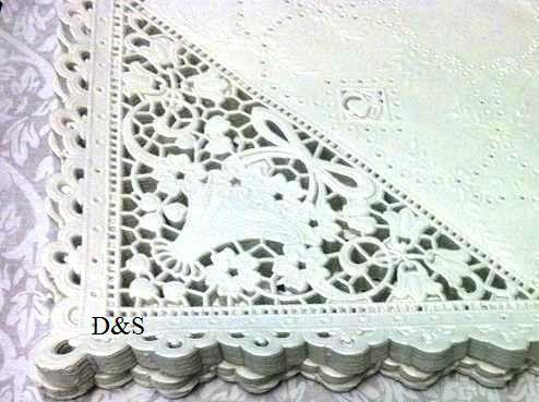 100  Bulk Discount 10  Square White  Off White by DandSArtStudio, $27.80