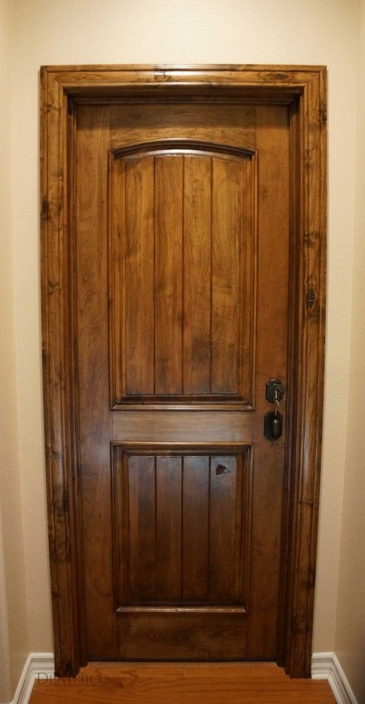 The Puerta Sencilla Is A Beautiful Paneled Interior Door Made From Solid Alder Wood Doors
