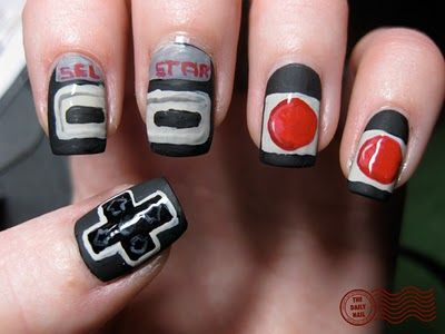 Nintendo nails!
