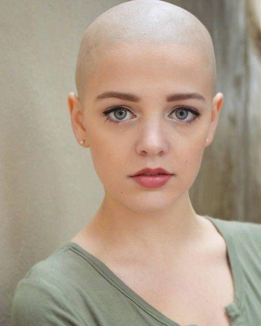94 In 2021 Bald Girl Bald Head Women Bald Women