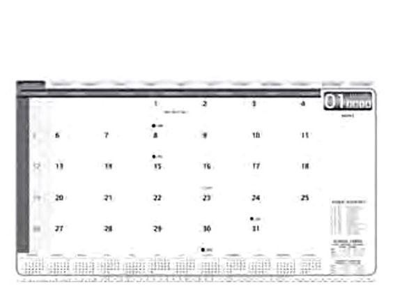 Executive Desk Pad Calendar at Calendar | Ignition Marketing Corporate Gifts