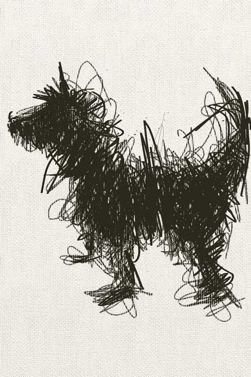 Scribble Method Drawing : Scribble art to make your home and office look awesome