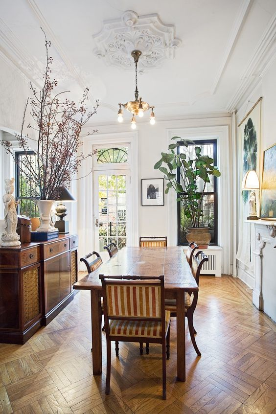 Design new york and window on pinterest for New york brownstone interior design