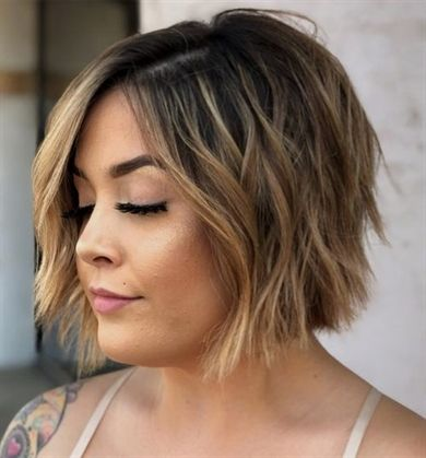 Brilliant Short Bob Hairstyles 2019 For Round Faces Bobhaircut Short Bob Hairstyles Short Hair Trends Popular Short Haircuts
