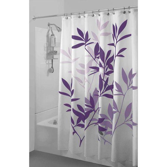 meadow peva shower curtain