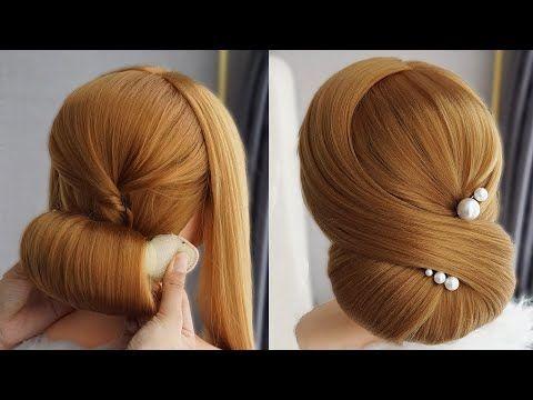 Penteado Facil Com Tranca Penteados Simples E Lindos Easy Hairstyle With Donut Bun Youtube Em 2020 Penteados Faceis Penteados Penteados Simples