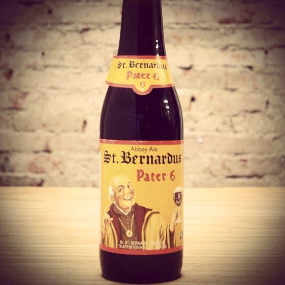 Cerveja do dia: St. Bernardus Pater 6 (6,7% / Watou - Bélgica) #cervejadodia - E ai, já provou?