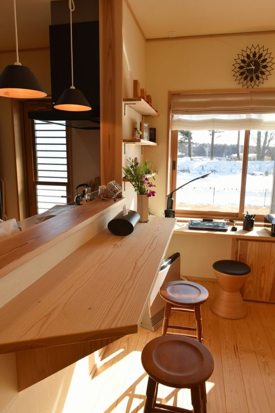 リビング学習 キッチン カウンター 利用 将来変更 柔軟