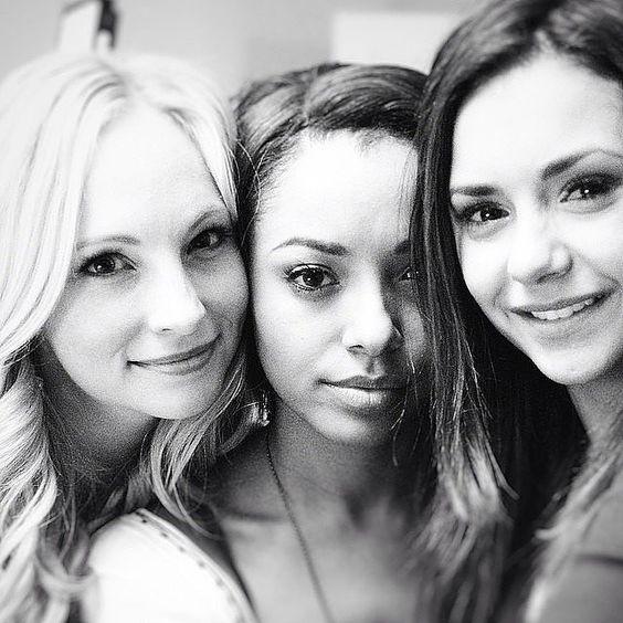 ~~Go Behind the Scenes of Nina Dobrev's Final Days on the Vampire Diaries Set | Popsugar~~