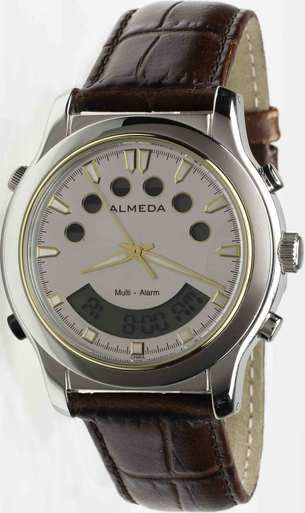 The awesome reminder + timer watch that is alarmingly great!  http://www.almedatime.com/almeda-multi-alarm-reminder-watch-leisure-edition/