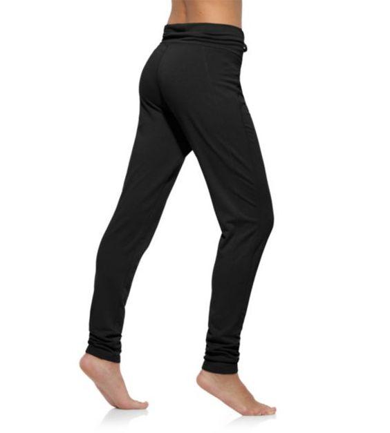 [Reebok Women's Yoga French Terry Slim Pant Pants