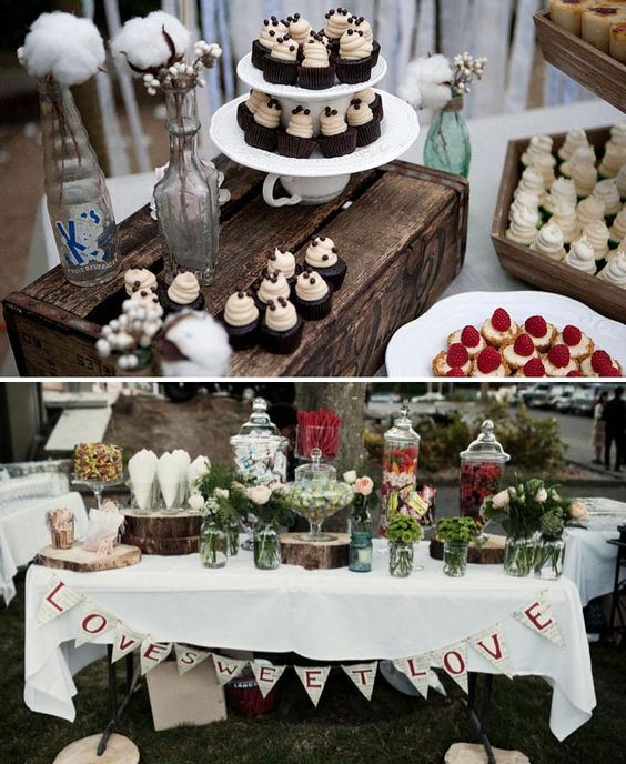 Ideas For Vintage Rustic Wedding