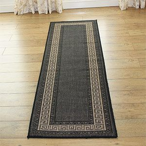 Practical and decorative, Greek Key Hall Runners not only protect expensive #hallway floors, they also give a stylish first impression of your home.  http://www.landofrugs.co.uk/greek-hall-runners-c-38_320.html