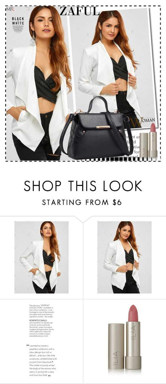 """""""Black and White 11"""" by ramiza-rotic ❤ liked on Polyvore featuring Ilia"""