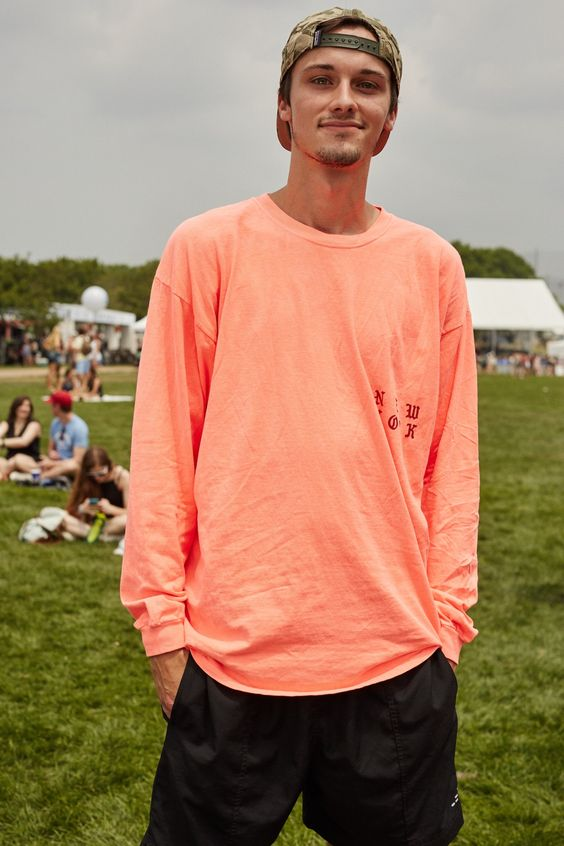 Name: Matt Welborn Age:21 Where are you from? South Carolina. What do you do? Chef. Who are you here to see? Kanye. How would you describe your festival look? Comfort but Kanye. What are you wearing from head to toe? Hat Patagonia, Shirt Kanye. Song of the summer? Anything Kanye drops this summer. @sunglasshut #ad