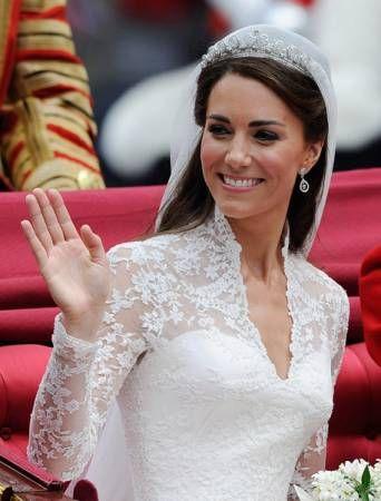 Image detail for -Kate Middleton Wedding Dress Replica