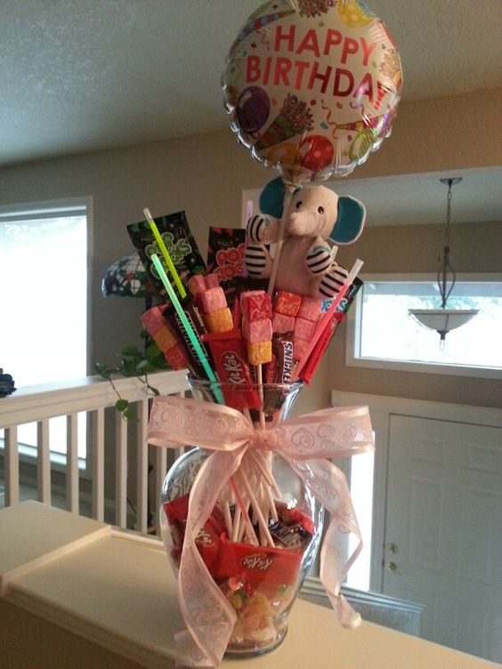 Sweet 16 Sweet 16 Gifts And Birthday Bouquet On Pinterest