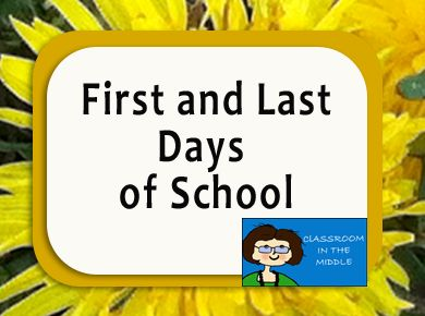 First and Last Days of School Pinterest Board
