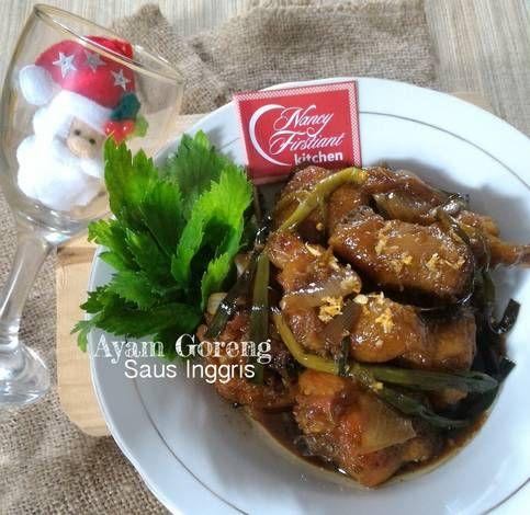 Resep Ayam Goreng Saus Inggris Oleh Nancy Firstiant S Kitchen Resep Resep Masakan Ayam Goreng Memasak