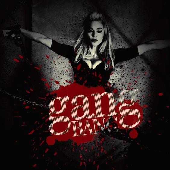 Madonna – Gang Bang (single cover art)