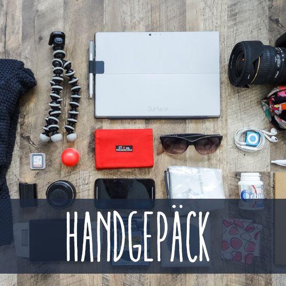 Ich packe meinen Koffer... - Teil 1: Handgepäck | Sandra Klary Fotografie