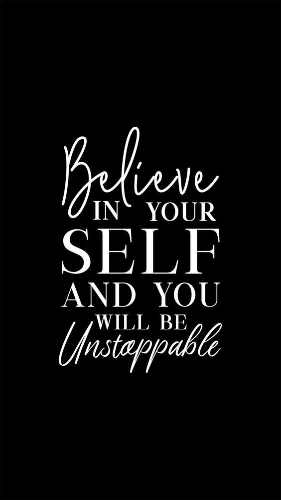 Believe In Your Self And You Will Be Unstoppable. #BeingUnstoppable #BeingUnstoppableQuotes #BelieveInYourSelf #BelieveInYourSelfQuotes #Quotes #Motivation #Quoteish