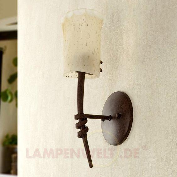 Stilvolle Wandleuchte Torino, 1-flammig 3507043