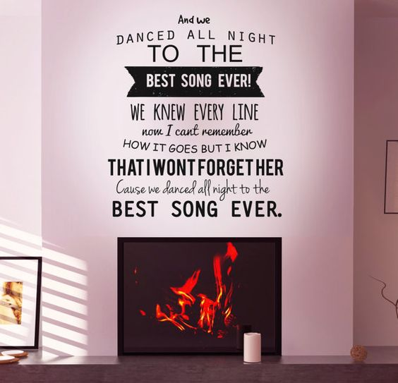 Wall Art Stickers Song Lyrics : The world s catalog of ideas