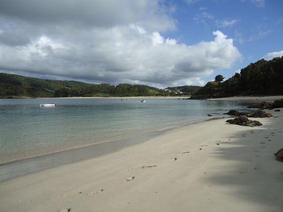 Praia de Area Maior e Vilaverde (Muxía)
