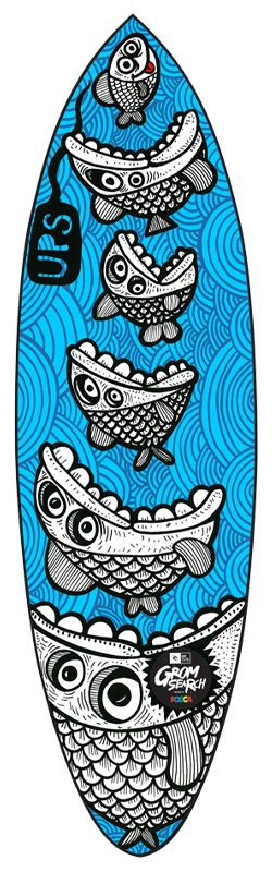 id e dessin de posca affish pinterest surf bonheur et planche de surf. Black Bedroom Furniture Sets. Home Design Ideas
