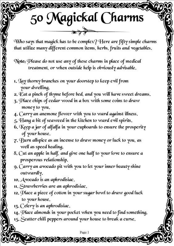 Magickal Charms:
